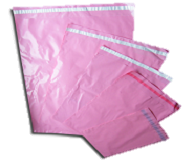 Pink Mailers: 230mm x 310mm